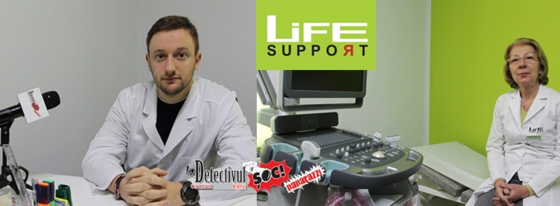 VIDEO. Despre tratarea ATACURILOR DE PANICĂ și a BOLILOR INTERNE la Clinica Life Support Sighet