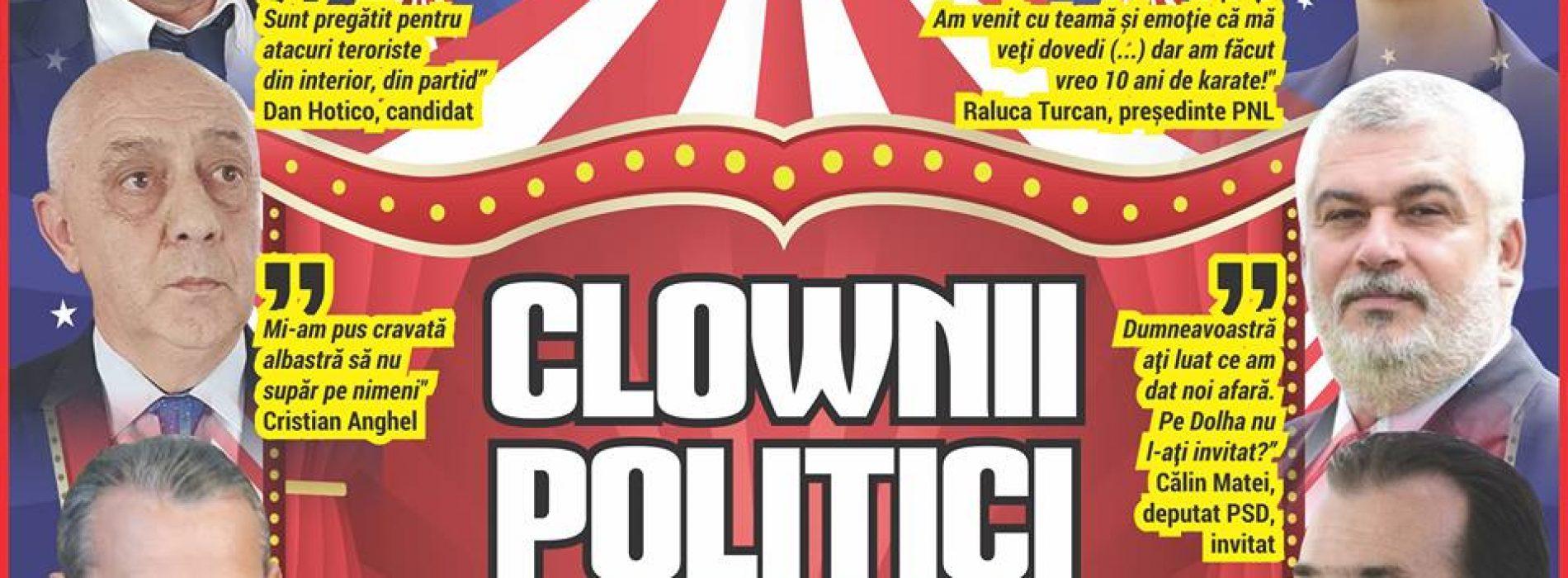 CLOWNII POLITICI