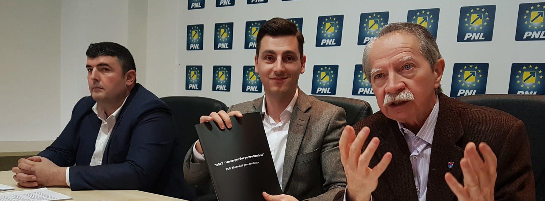 """Analiză PNL: """"Cartea NEAGRĂ a guvernării PSD. 2017- un an PIERDUT pentru ROMÂNIA; PSD DĂUNEAZĂ grav ROMÂNILOR"""""""