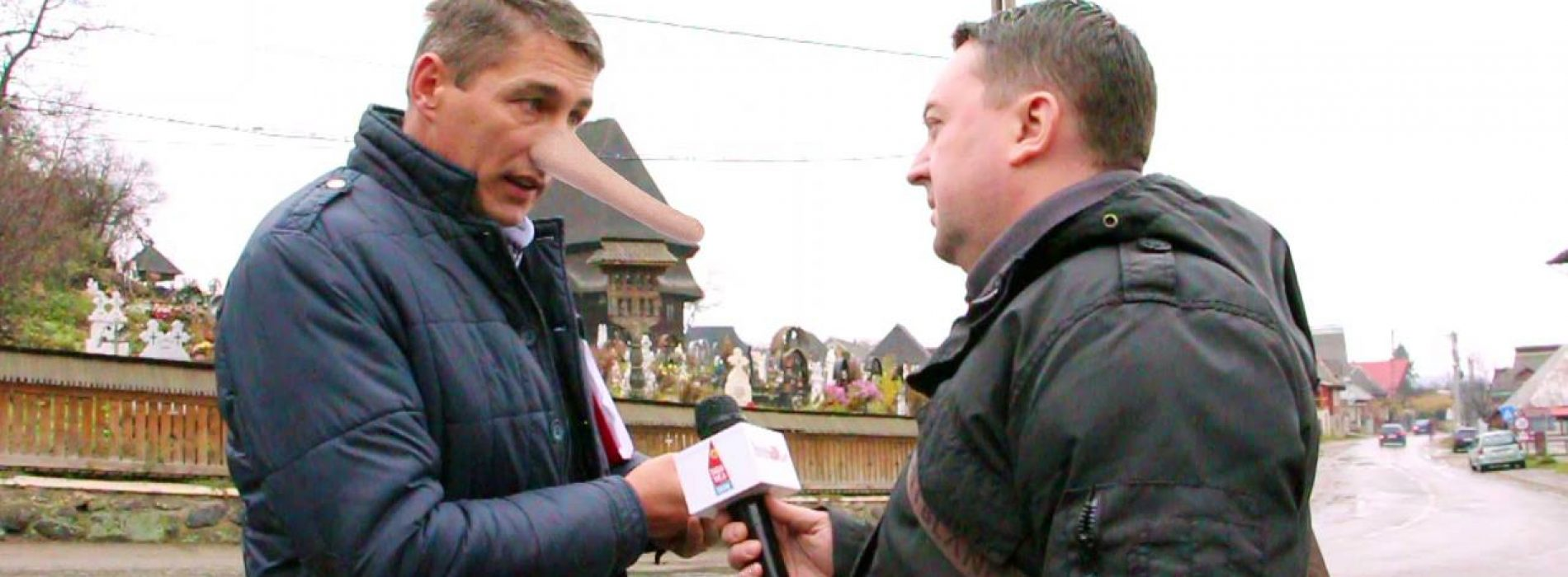 PINOCCHIO de Budești REVINE în forță! A MINȚIT și la BISERICĂ. Continuă bătaia de joc față de budeșteni