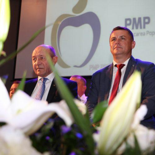 """Video. NOUL președinte PMP Maramureș, Lucian Morar: """"Voi LUPTA chiar și cu Traian Băsescu în interesul PMP Maramureș"""""""