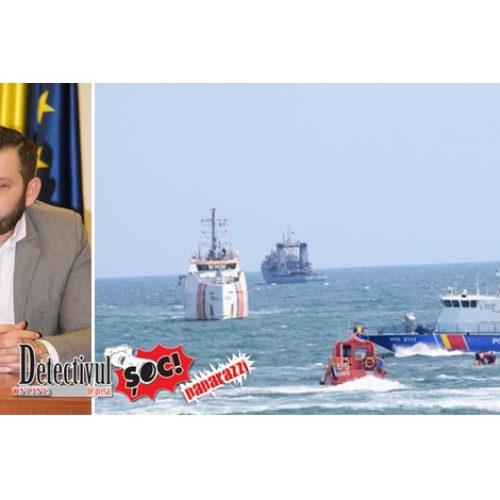 """Ziua MARINEI Române: George Moldovan, vicepreședinte CJ Maramureș: """"Spectacolul naval oferit întregii țări este grandios și binevenit"""""""