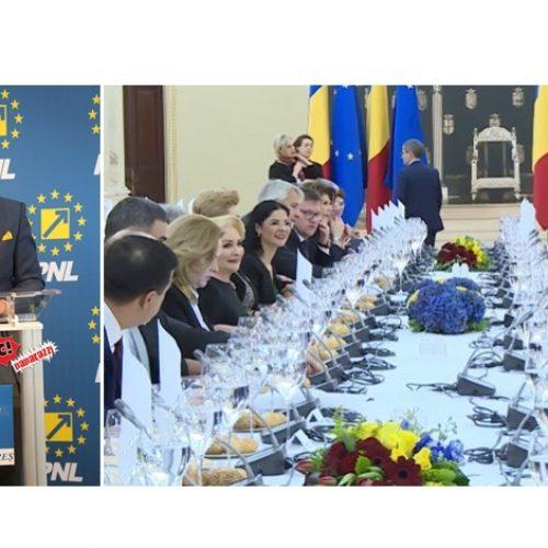 """Ionel Bogdan (PNL) despre prânzul din Sala Tronului: """"Au lipsit grătarul cu mititei și lăutarii, dar probabil Florin Salam, preferatul lui Liviu Dragnea, era ocupat în această perioadă"""""""