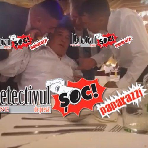 VIDEO-ȘOC! Primarul din Oncești, Matei Godja și fiul său, Ioan Godja AU AGRESAT împreună cu un ospătar UN INVITAT la o nuntă în PROPRIUL local la Casa de Petrecere a Moroșenilor. Victima a fost MUȘCATĂ de ureche