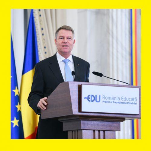 """""""România Educată"""", proiectul Președintelui Iohannis, la aniversarea a 100 de ani de învățământ universitar românesc la Cluj Napoca"""