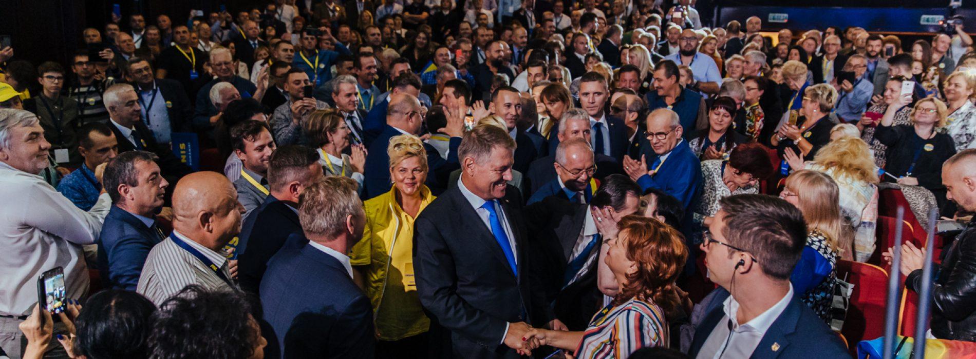 PNL Maramureș: Klaus Iohannis a făcut tot ceea ce putea să facă un președinte pentru a opri atacurile PSD împotriva statului român