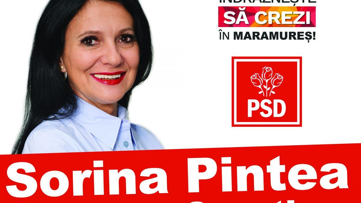 De ce ESTE POTRIVITĂ Sorina Pintea pentru candidatură. NU ESTE POLITICIAN!