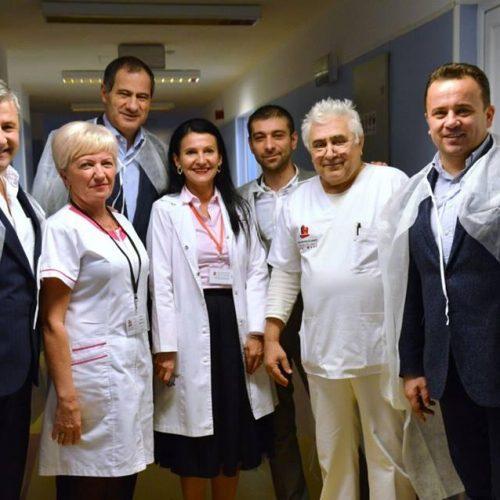 """Marian Neacșu: """"La Spitalul Județean de Urgență din Baia Mare, Sorina Pintea este omul care sfințește locul"""""""