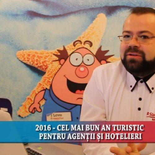 2016 – CEL MAI BUN AN TURISTIC PENTRU AGENȚII ȘI HOTELIERI