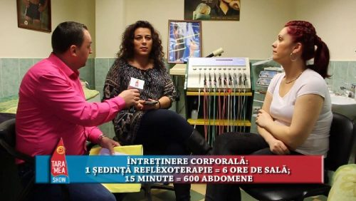Electrostimulare și masaj – Salon Claudia Baia Mare