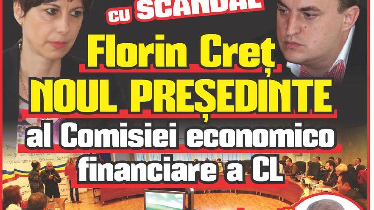 Danielea Băzărea SCHIMBATĂ cu scandal.  Florin Creț NOUL PREȘEDINTE al Comisiei economico-financiare a CL