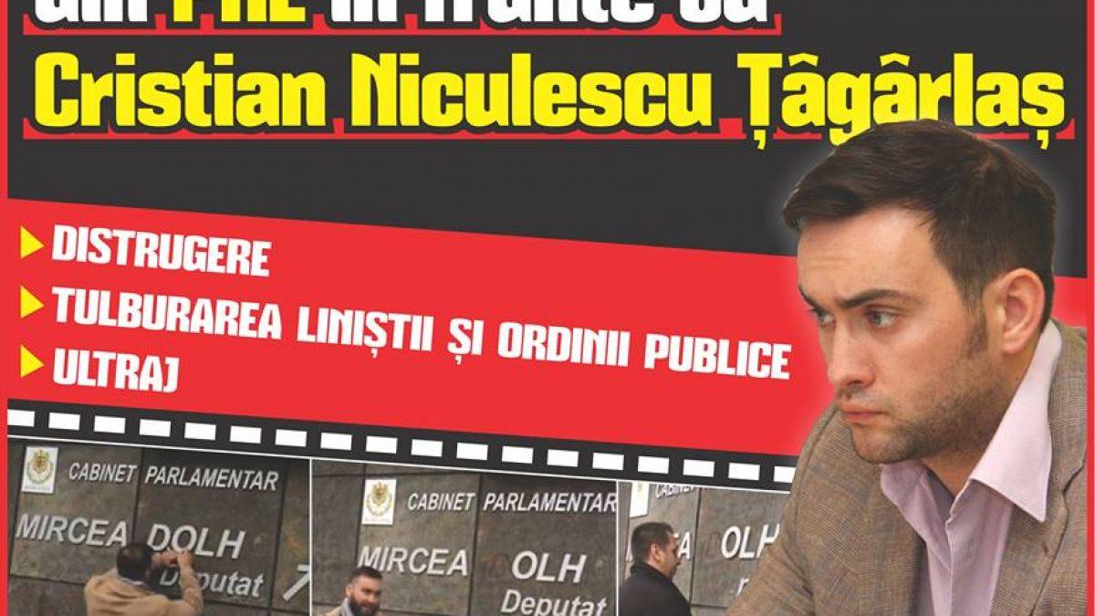 Ce infracțiuni riscă revoluționarii de burete din PNL în frunte cu Cristian Niculescu Țâgârlaș > DISTRUGERE > TULBURAREA LINIȘTII ȘI ORDINII PUBLICE > ULTRAJ