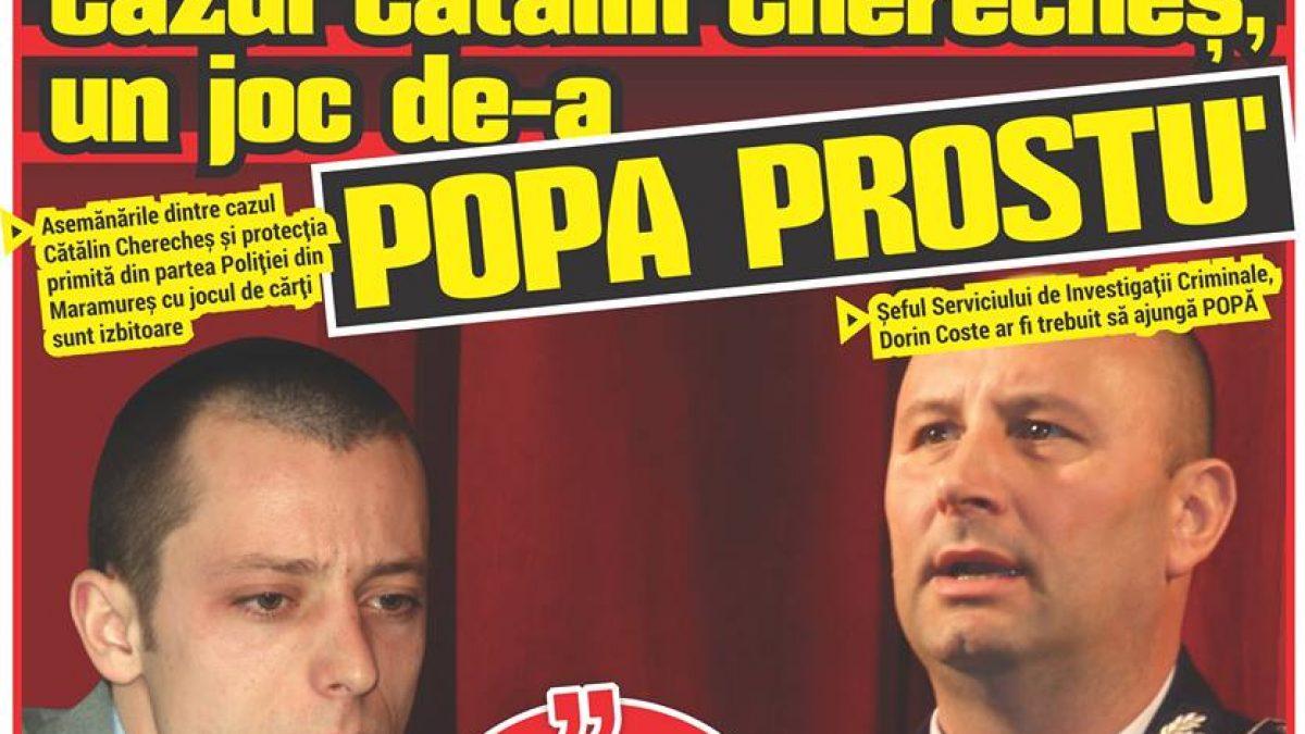 Cazul Cătălin Cherecheș, un joc de-a POPA PROSTU'