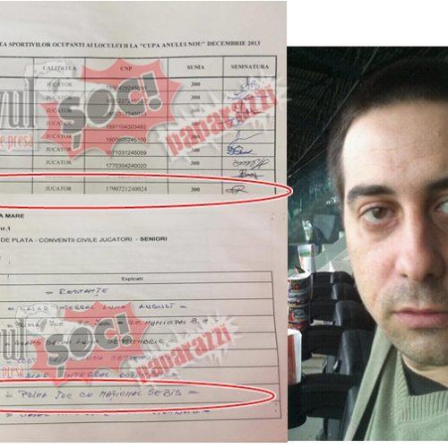 FALSUL jucător! Și Cosmin Filip a fost SUGATIVĂ la FC Baia Mare