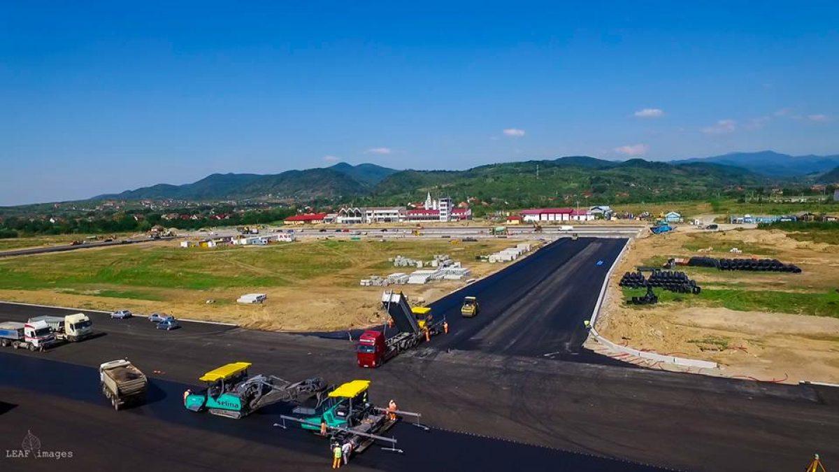 Bani pentru TERMINAREA Aeroportului Internațional Maramureș