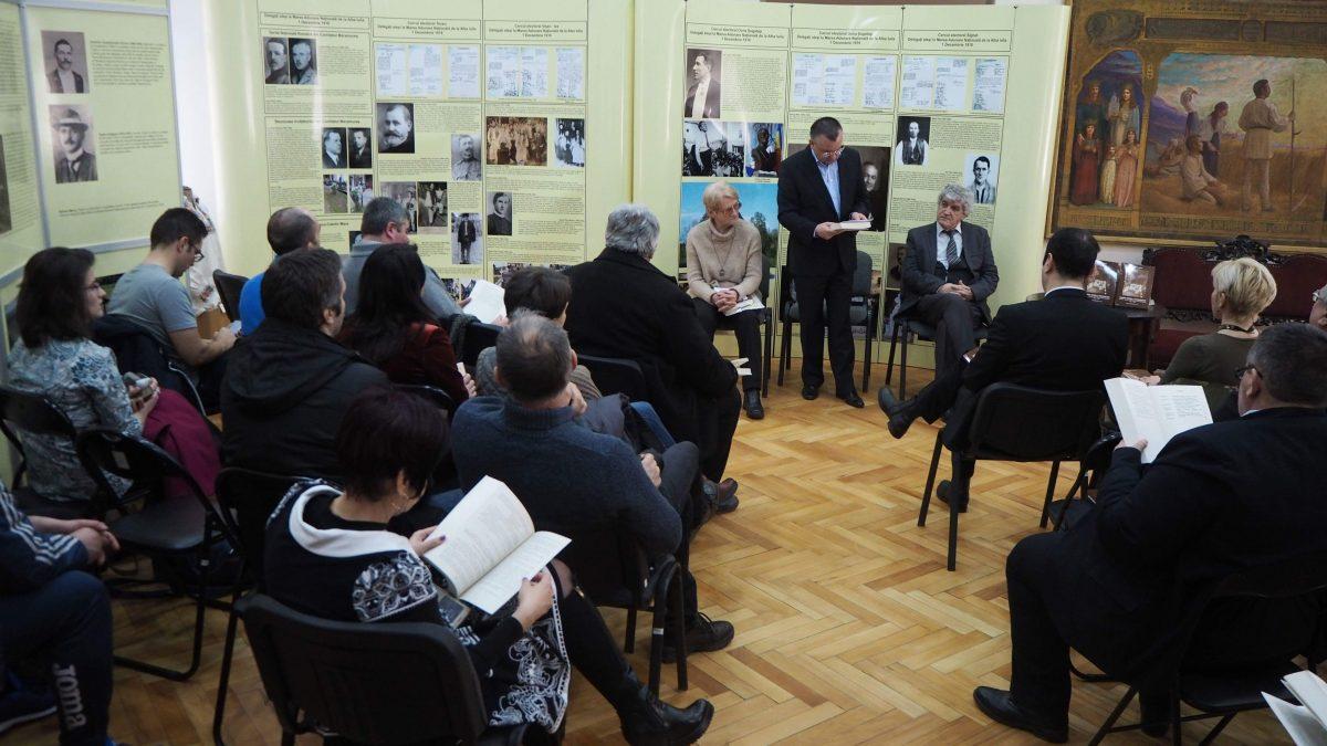 """LANSARE de CARTE: ,, Marea Unire a Românilor. Oameni, locuri, documente din Maramureș"""""""