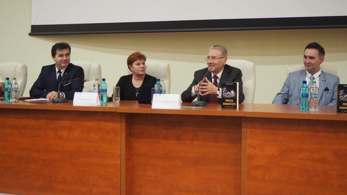 """Emil CONSTANTINESCU. Conferință – PUTEREA CĂRȚII. Lansare de carte – ,,PREȚUL DEMNITĂȚII"""""""