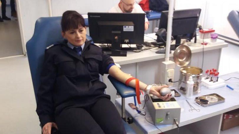 """DONARE de sânge – """"Jandarmii pentru viaţă!"""""""