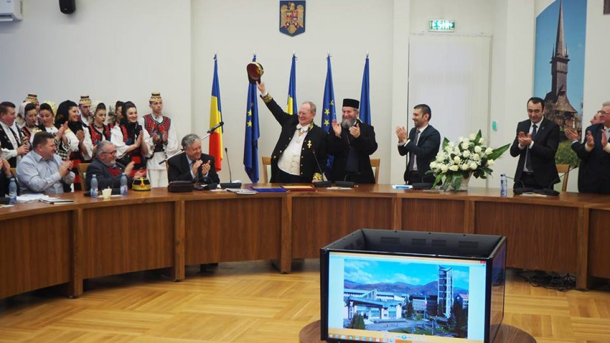 Alexandru Surdu, făcut Cetățean de Onoare al Maramureșului. Recunoștință filosofiei românești