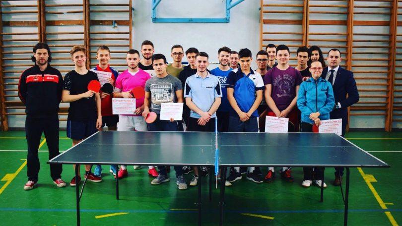 Campionat de TENIS de masă între LICEE, organizat de TSD Maramureș