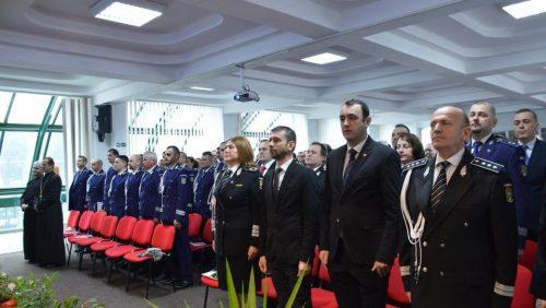 Poliţiştii maramureşeni au sărbătorit 196 de ani de existenţă a Poliţiei Române