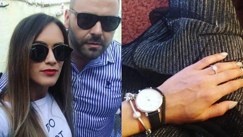 """VIDEO. George Moldovan A CERUT-O pe Andreea de soție la Veneția. """"SĂRACUL de el, NOROCOASA de ea!"""", au glumit prietenii din jur"""