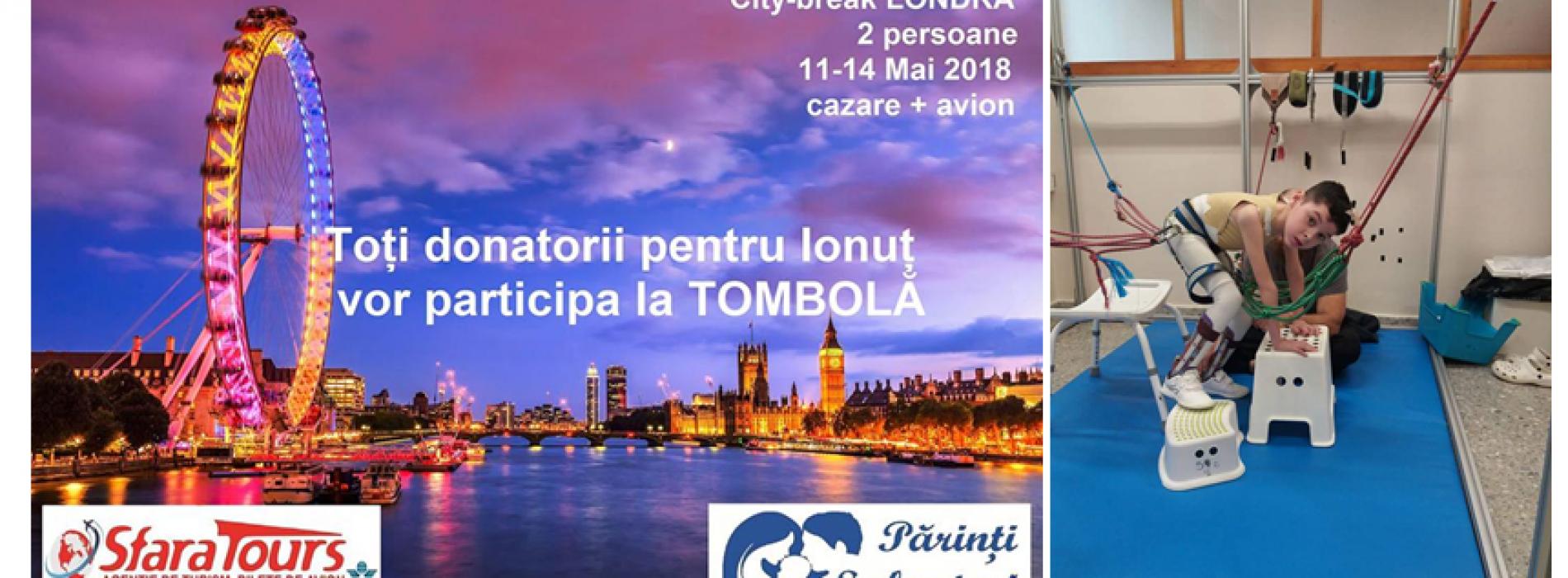 CITY-BREAK la Londra pentru cei care-l AJUTĂ pe IONUȚ