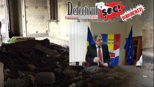 VREA să REABILITEZE gara și NU este lăsat. Află ce vrea să facă primarul Ioan Mătieș la Mireșu Mare