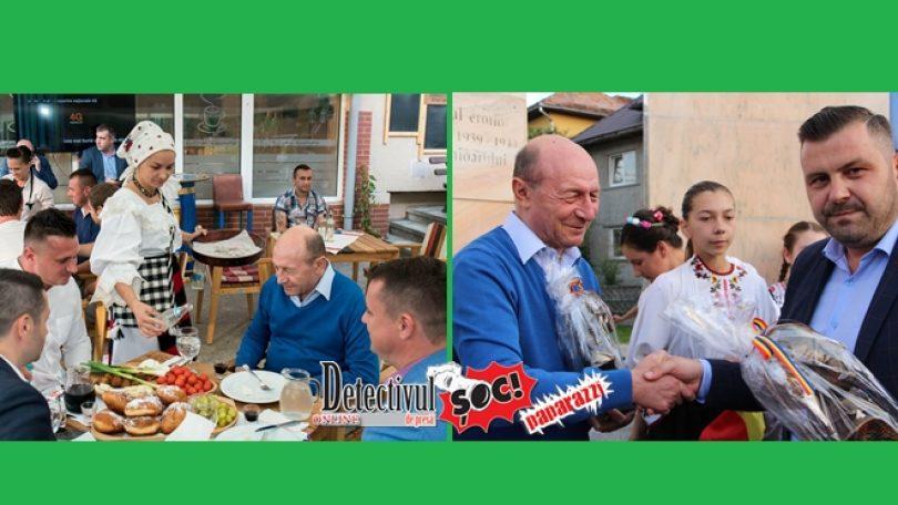 Ce a FĂCUT Băsescu în Maramureș. Unde a fost și ce a PRIMIT