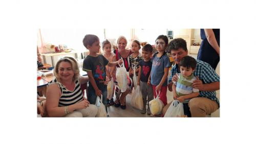 ALDE Maramureș și-a vizitat PRIETENII de Ziua Copilului