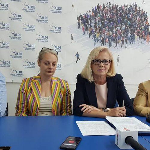 """VIDEO. Cornelia Negruț: """"Vin oameni din PSD și PNL în ALDE Maramureș"""""""