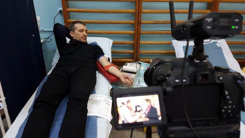 VIDEO. Un nou RECORD de DONATORI de sânge la Sighetu Marmației. Asociația Părinți Salvatori  continuă campania județeană de donare