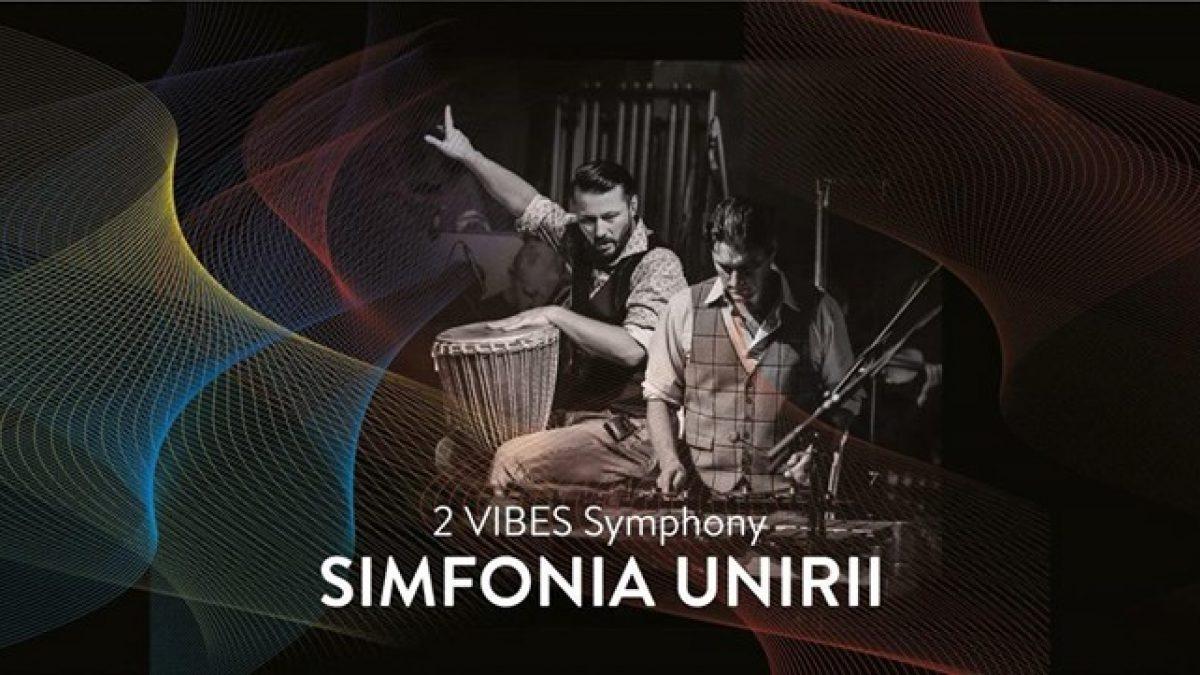 Video. Cluj Napoca. SIMFONIA UNIRII – un concert manifest cu CICI Rogojan, al 2 Vibes Symphony