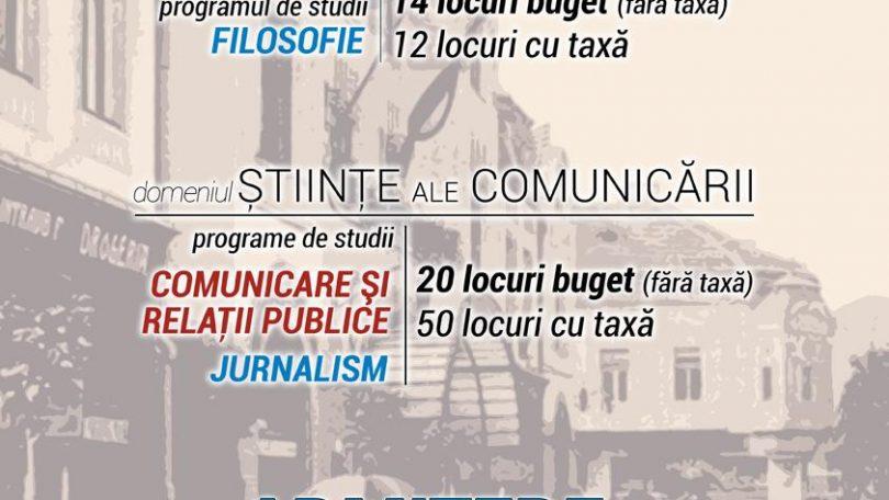 Video. Admitere. Nu fi pasiv! Fii JURNALIST! Înscrie-te la Comunicare sau la Jurnalism