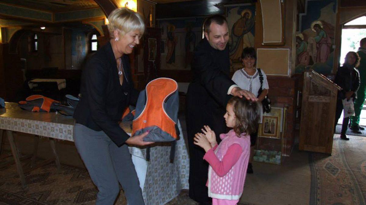 """Proiectul """"Primul ghiozdan"""" continuă în județul Maramureș și în anul școlar 2018 – 2019"""