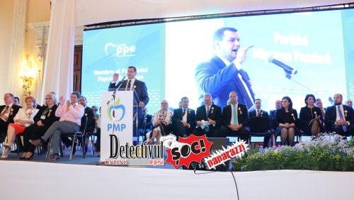Președintele PMP, Eugen TOMAC se va afla azi în Baia Mare