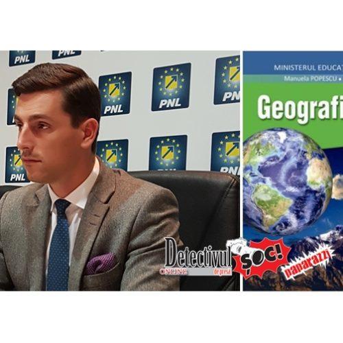 """Ionel Bogdan, președinte PNL Maramureș: """"Greșeli grave în manualul de Geografie de clasa a VI-a"""""""