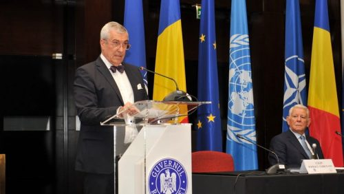 Președintele ALDE, Călin Popescu- Tăriceanu, la Reuniunea diplomaţiei: Există deja suficiente probe că în România mişcările de stradă nu sunt autonome
