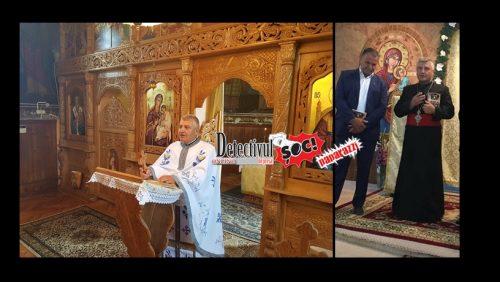 Unde sunt banii, DIAVOLE? Preotul Ioan Nechita și PRIMARUL din Recea, Pavel Octavian au transformat ALTARUL bisericii în PARAVAN pentru afaceri NECURATE