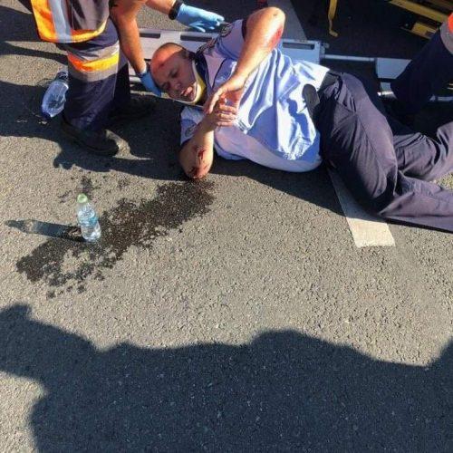 VIDEO. Șoferul care l-a SPULBERAT ieri pe polițistul Sorin Pop a fost REȚINUT