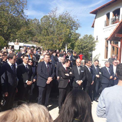 Liberalii maramureșeni au onorat memoria lui Iuliu Maniu la Bădăcin, județul Sălaj