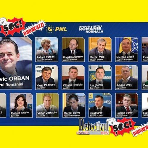 Guvernul PNL: Cine sunt miniștri propuși de premierul desemnat Ludovic Orban