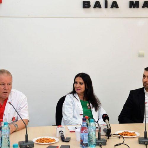 Sorina Pintea, cel mai BUN MINISTRU al României s-a ÎNTORS la Spitalul Județean Baia Mare. CJ a alocat, în 2019, suma de 7,5 milioane de lei pentru spital