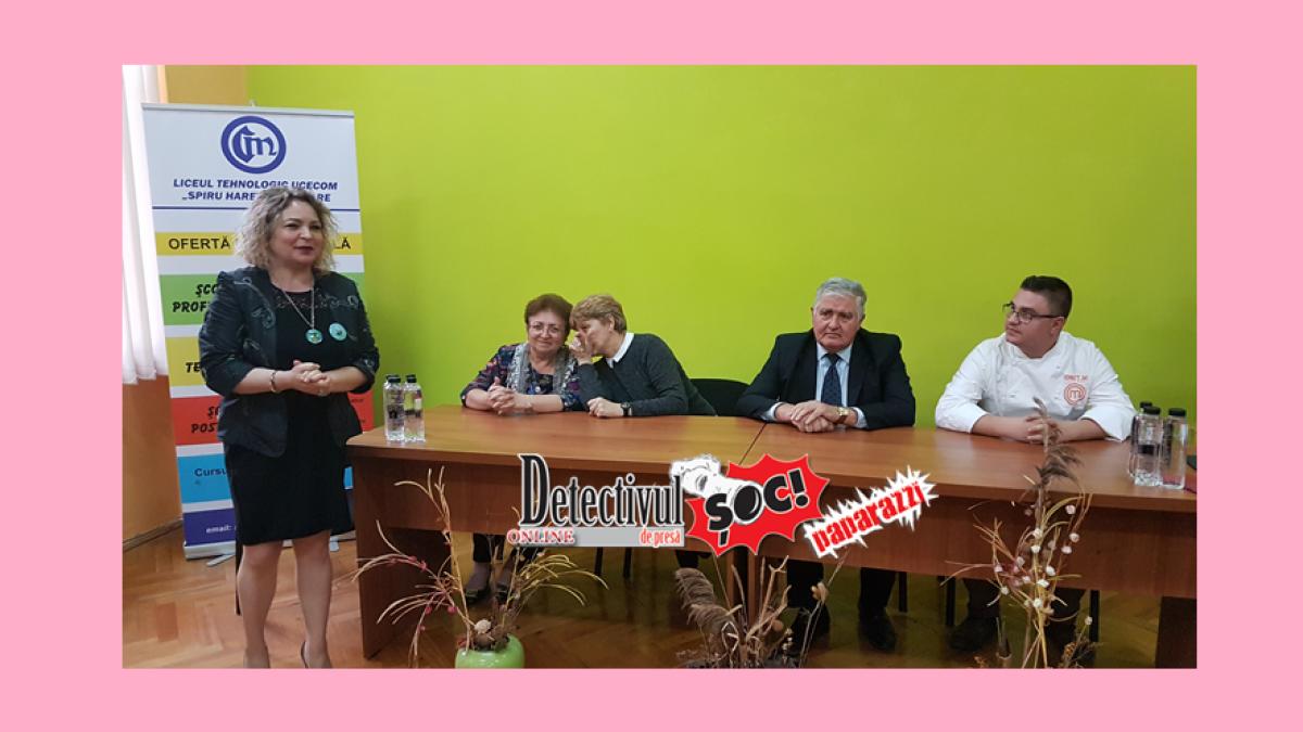 """Ionuț Mărieș, Master Chef 2019 la """"Noi suntem viitorul"""" de la Liceul Tehnologic UCECOM """"Spiru Haret"""" Baia Mare"""