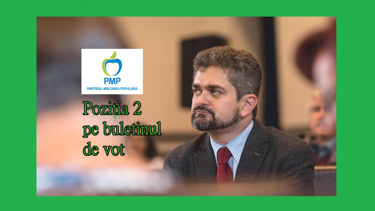 Proiectul lui Theodor Paleologu, România: O ţară SIGURĂ, EDUCATĂ şi PERFORMANTĂ.  Theodor Paleologu – Poziţia nr. 2 pe buletinul de vot