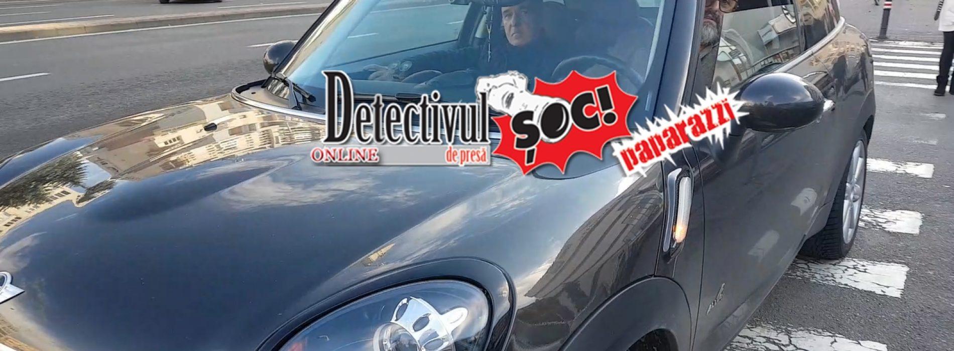 """COCALARI cu epoleți. Fostul șef de poliție Ioan Marchiș, STAȚIONARE pe trecerea de PIETONI. """"Ce, am stricat trecerea?"""", a întrebat șoferul IMPERTINENT"""