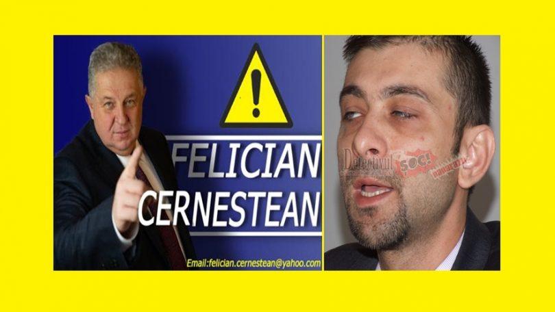 """Felician Cerneștean un nou ATAC furibund la adresa lui Gabriel Zetea, pe Facebook: """"CRONICA UNUI ANACRONIC DECLARAT"""""""