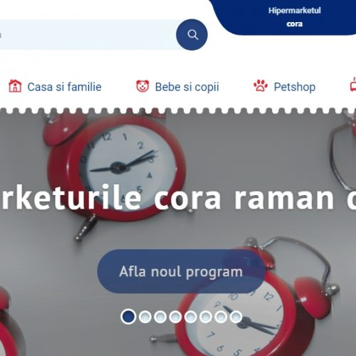 Magazinul CORA Baia Mare rămâne DESCHIS în perioada stării de URGENȚĂ. Vezi noul PROGRAM!
