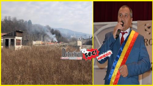 Borșeni ÎNECAȚI în fum de la STAȚIA de gunoi a orașului. Vezi ce spune primarul Timiș Sorin