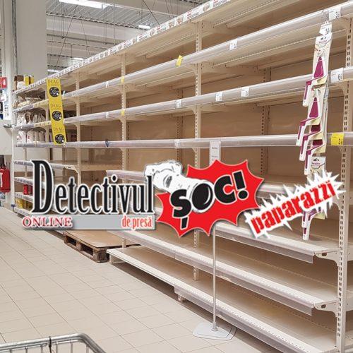 Ne-am întors la RAȚII. CARREFOUR vinde ulei și zahăr cu RESTRICȚII. E RESTRICȚIONAT și numărul de cumpărători, în ture. Și alte magazine aplică restricții la INTRARE